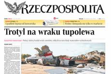 Wojskowi prokuratorzy poinformowali, że na wraku tupolewa nie było trotylu, o czym pisałw październiku 2012 roku Cezary Gmyz