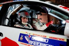 Maciej Handwerker jest pilotem Krzysztofa Schenka w zespole rajdowym TINT.