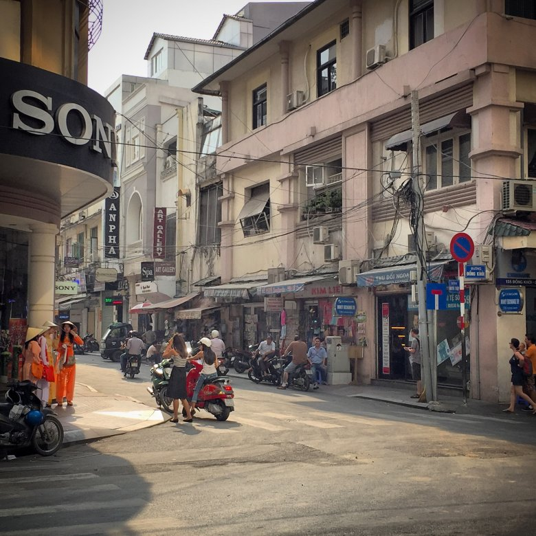 Ulica w centrum Sajgonu