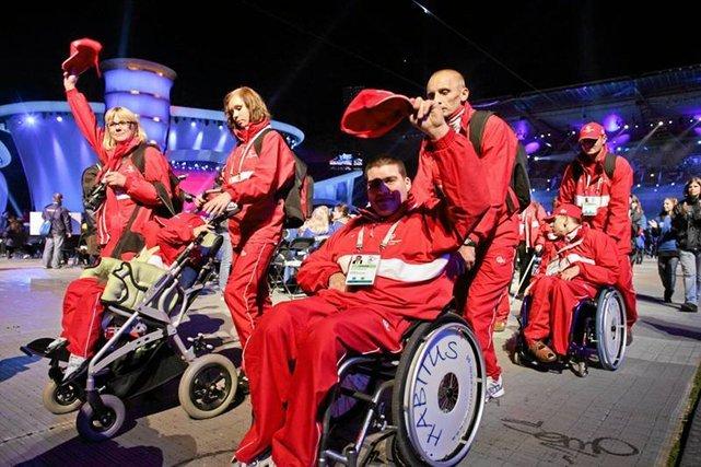 Ceremonia otwarcia Europejskich letnich Igrzysk Olimpiad Specjalnych 2010