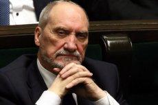 Prokuratura Wojskowa wszczęła śledztwo w sprawie Macierewicza. Były szef MON podejrzany jest o przekroczenie uprawnień.