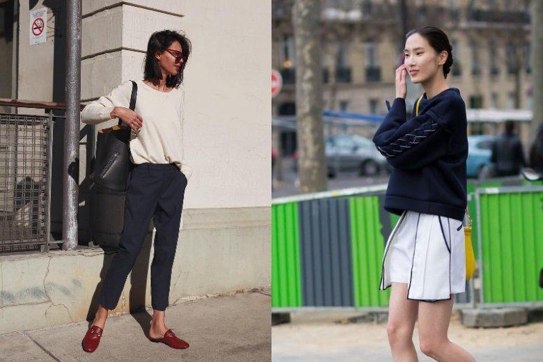 Bluza dobrze połączy się zarówno ze spodniami, jak i spódnicą