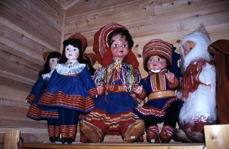 Lapońskie lalki