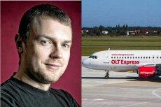 Michał Tusk, syn premiera pracował w OLT Express