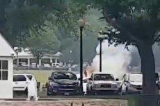 Niezidentyfikowany mężczyzna podpalił się w parku opodal Białego Domu.
