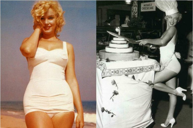 9a5d60ac068968 Marilyn Monroe to najsłynniejsza i najpiękniejsza blondynka wszech czasów.  Jej kształty do dziś dla wielu