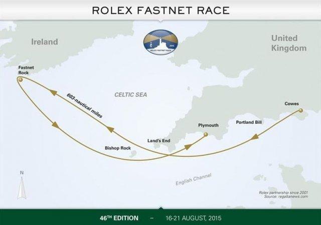 Robert Szustkowski zdobył srebro w regatach Rolex Fastnet Race.