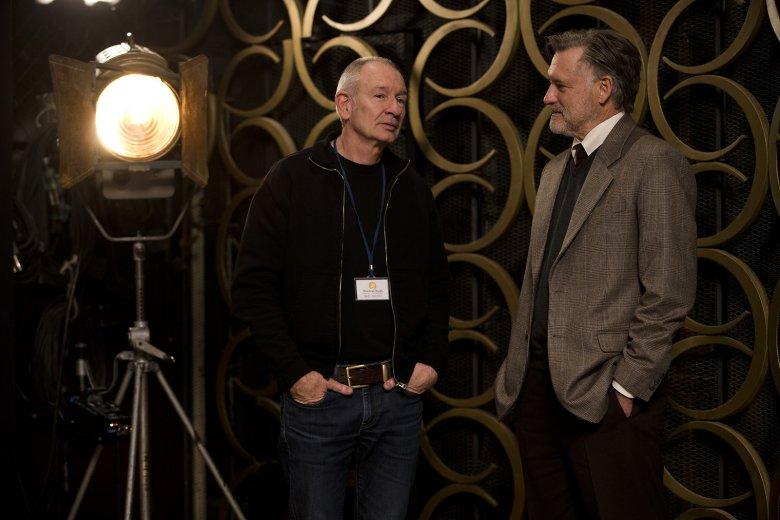 Paweł Edelman i Bill Pullman