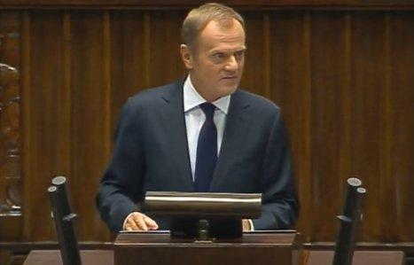 Premier Tusk w Sejmie