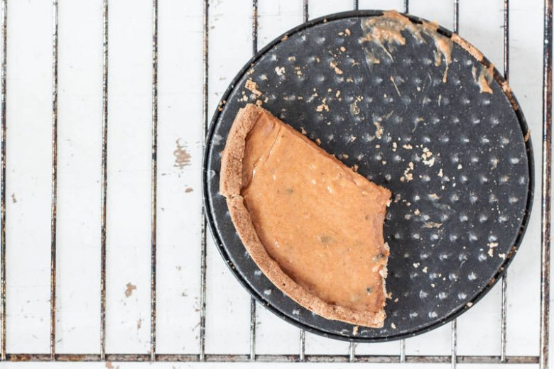 Tarta z dyniowym karmelem