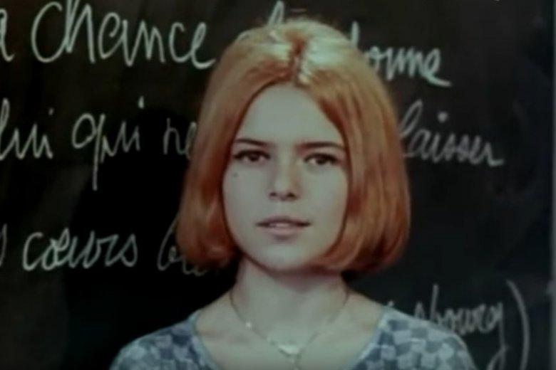 Nie żyje France Gall, zwyciężczyni Eurowizji w 1965 r. Miała 70 lat. Na zdjęciu – clip z roku 1964.