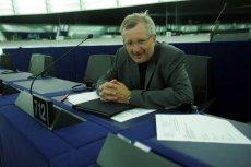 Marek Siwiec w Parlamencie Europejskim