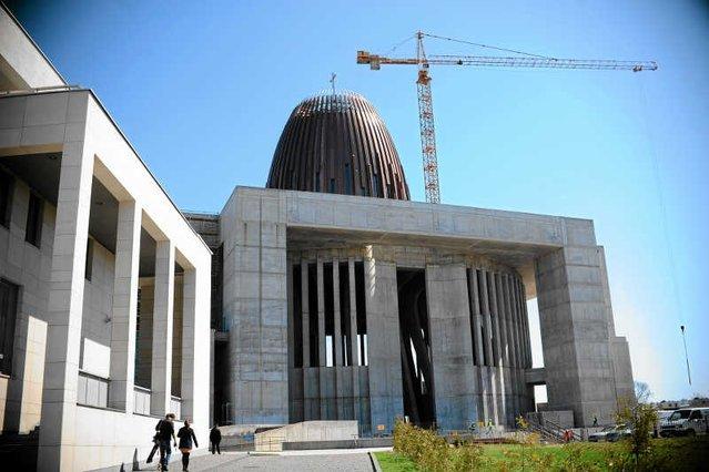 Kard. Nycz apeluje o finansowe wsparcie budowy Świątyni Opatrzności Bożej w Warszawie.