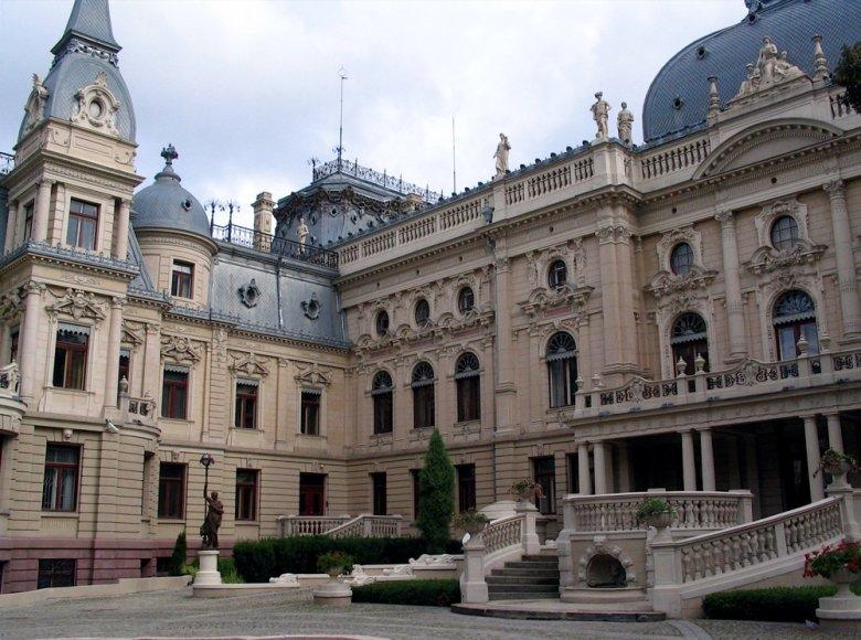 Pałac Poznańskiego porównywano z Luwrem