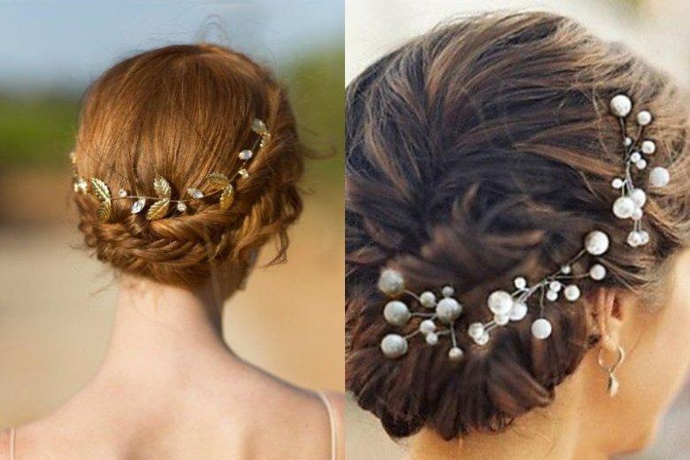 Eleganckie spinki do włosów