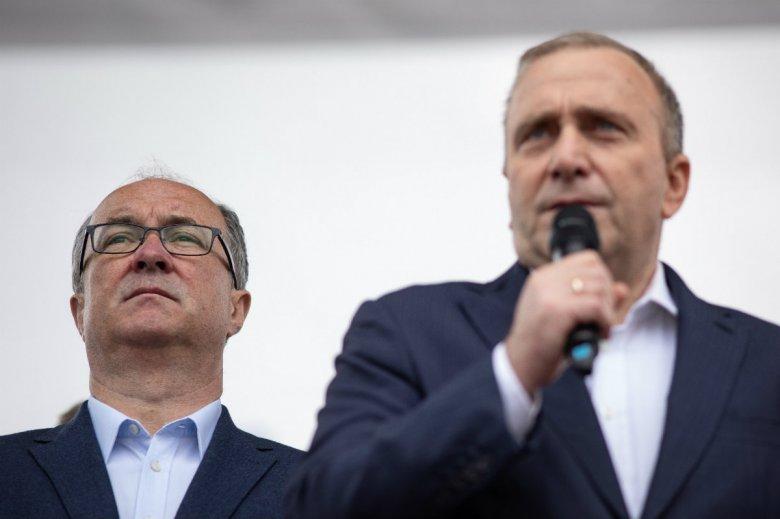 Włodzimierz Czarzasty zapowiada, że jeśli projekt koalicji opozycyjnej zostanie rozbity, w czwartek zacznie tworzyć blok lewicowy.
