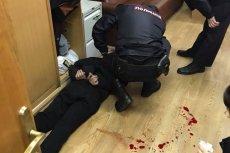 Napastnik został zatrzymany w siedzibie redakcji.