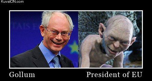 W taki sposób nabijano się z Van Rompuya po wyborze na szefa RE.