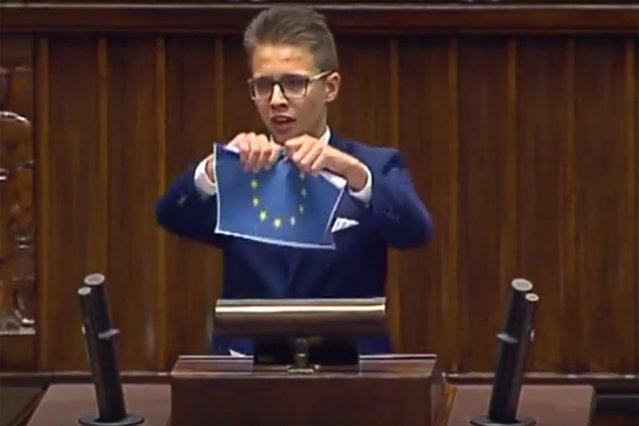 Michał Cywiński i jego rówieśnicy mogą kiedyś zastąpić posła Tarczyńskiego i Krystynę Pawłowicz