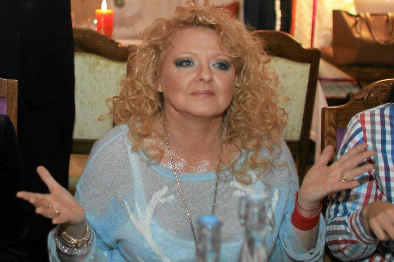 """Magda Gessler wzięła udział w kuchennej rewolucji w """"Bistrze przy Rondzie""""."""