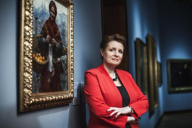 Małgorzata Omilanowska, minister kultury w latach 2014-2015.