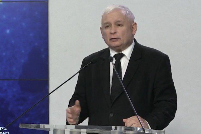 Jarosław Kaczyński znowu uderzył w PO. I zapowiedział surowe kary za pedofilię.