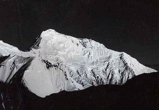 Lhotse, góra z której Jerzy Kukuczka już nie powrócił