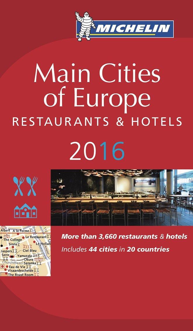"""Przewodnik """"Main Cities of Europe 2016""""."""