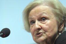 Prof. Ewa Łętowska zapowiada, że informacja o bombie nie pokrzyżuje jej planów.