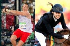 Brązowi medaliści w Rio: Wojciech Nowicki i Oktawia Nowacka.