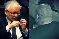 """Jarosław Sokołowski """"Masa"""", czyli najsłynniejszy świadek koronny w Polsce i Jarosław Kaczyński, którego marzeniem jest reforma sądów."""