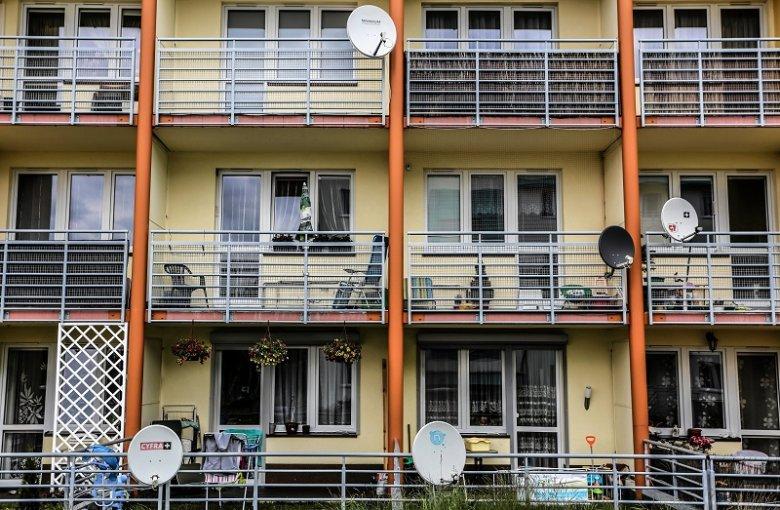 Na balkonie (nawet własnym) trzeba zachować umiar. Nie wszystko jest dozwolone i można dostać mandat. Zdjęcie poglądowe.