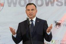 Andrzej Duda w Wołowie mówił o żądaniach nauczycieli i o jakości kształcenia poniżej oczekiwań.