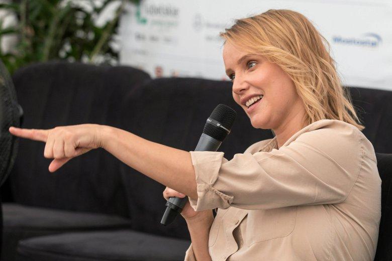 Joanna Kulig stała się twarzą francuskiego wydania magazynu Elle. Okrzyknięto ją wschodzącą gwiazdą.