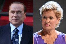 Silvio Berlusconi i Ewa Kasprzyk