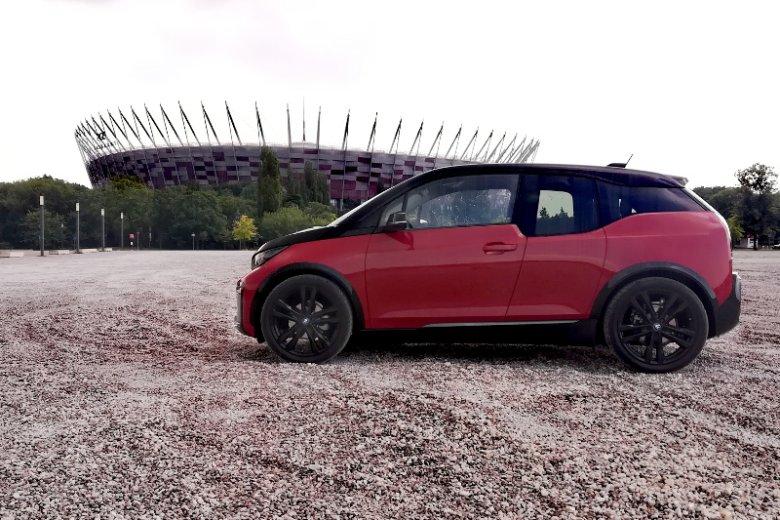 Sylwetka BMW i3s szybko się nie zestarzeje.