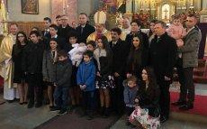 Rodzina Nelców z Przeciszowa zaprosiła prezydenta Andrzeja Dudę i innych polityków PiS na chrzest najmłodszej córki.