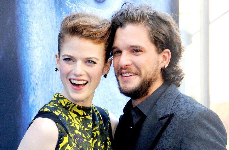 """Kit Harrington i Rose Leslie są parą nie tylko w """"Grze o tron"""". Wezmą ślub już 23 czerwca."""