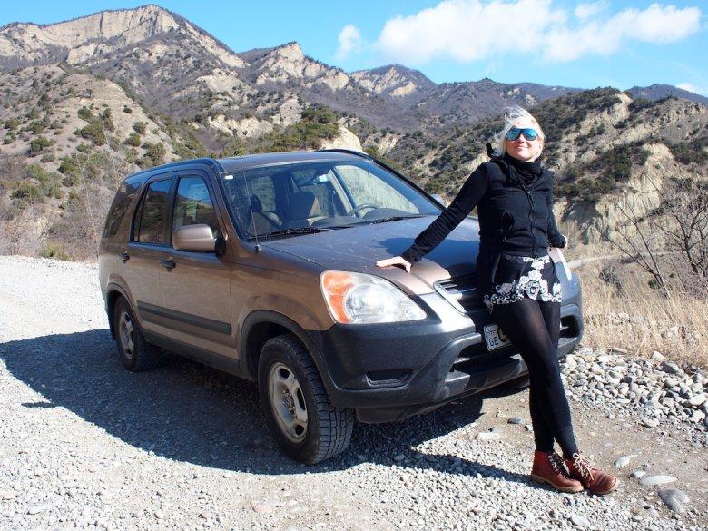 Samochód to był strzał w dziesiątkę. Dotarliśmy z małym dzieckiem do górskich monastyrów w sercu kraju i przepięknych zakątków Adżarii, ukrytych w Małym Kaukazie.
