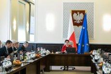 Kancelaria Prezesa Rady Ministrów w Warszawie była jedną z atrakcji Nocy Muzeów.
