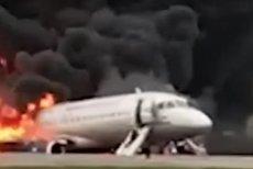 Pożar samolotu na lotnisku Szeremietiewo w Moskwie. Interfax o tym, dlaczego zginęło ponad 40 osób.