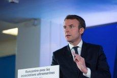 Emmanuel Macron zapowiada, że będzie bronił Francji i jedności Unii Europejskiej.