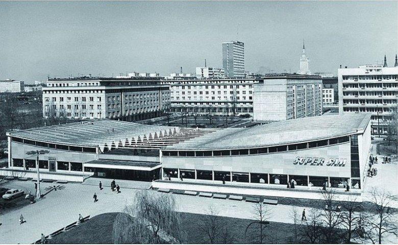 SuperSam w Warszawie (1969) był inspiracją dla twórców Spodka.