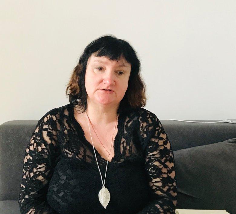 Psycholożka Monika Whiteman prowadzi terapię osób, które doświadczyły pedofilii. Pracuje w Fundacji od poniedziałku do soboty.