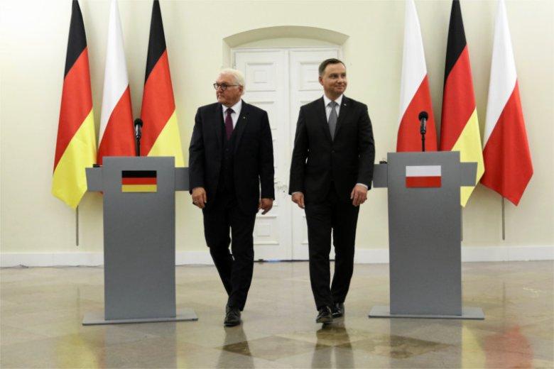 Wizyta prezydenta Niemiec Franka Waltera Steinmeiera w Polsce była bardzo trudna dla strony niemieckiej.