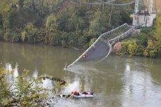 Zawalił się most nad rzeką Tarn we Francji.