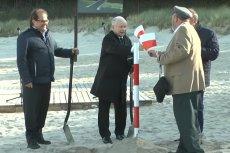 Jarosław Kaczyński uczestniczy w aktywnym promowaniu PiS, choć w teorii przebywa na zwolnieniu lekarskim.