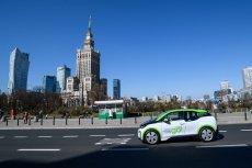 Nowy system carsharingowy w Warszawie spotkał się z bezwzględnością straży miejskiej.