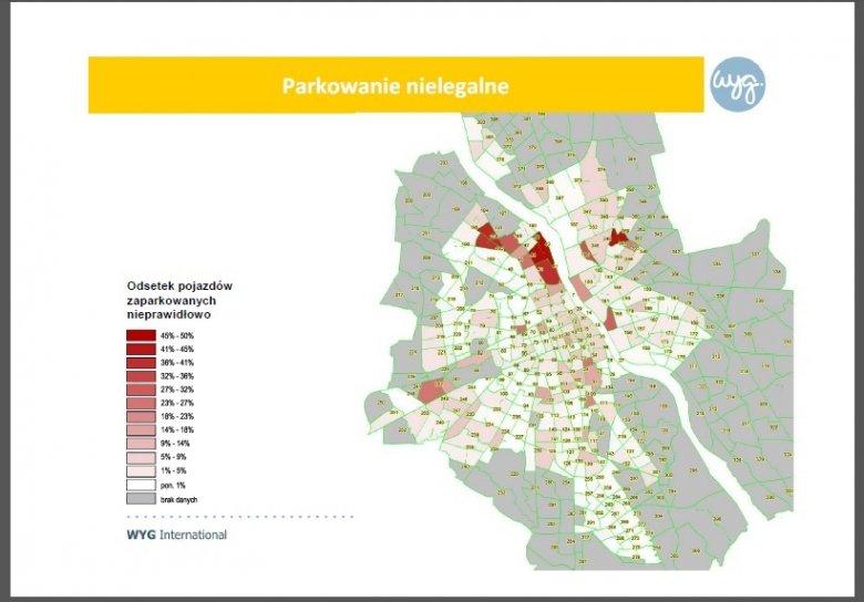 """Raport """"Kierunki realizacji polityki parkingowej na obszarze miasta stołecznego Warszawy do roku 2035"""""""