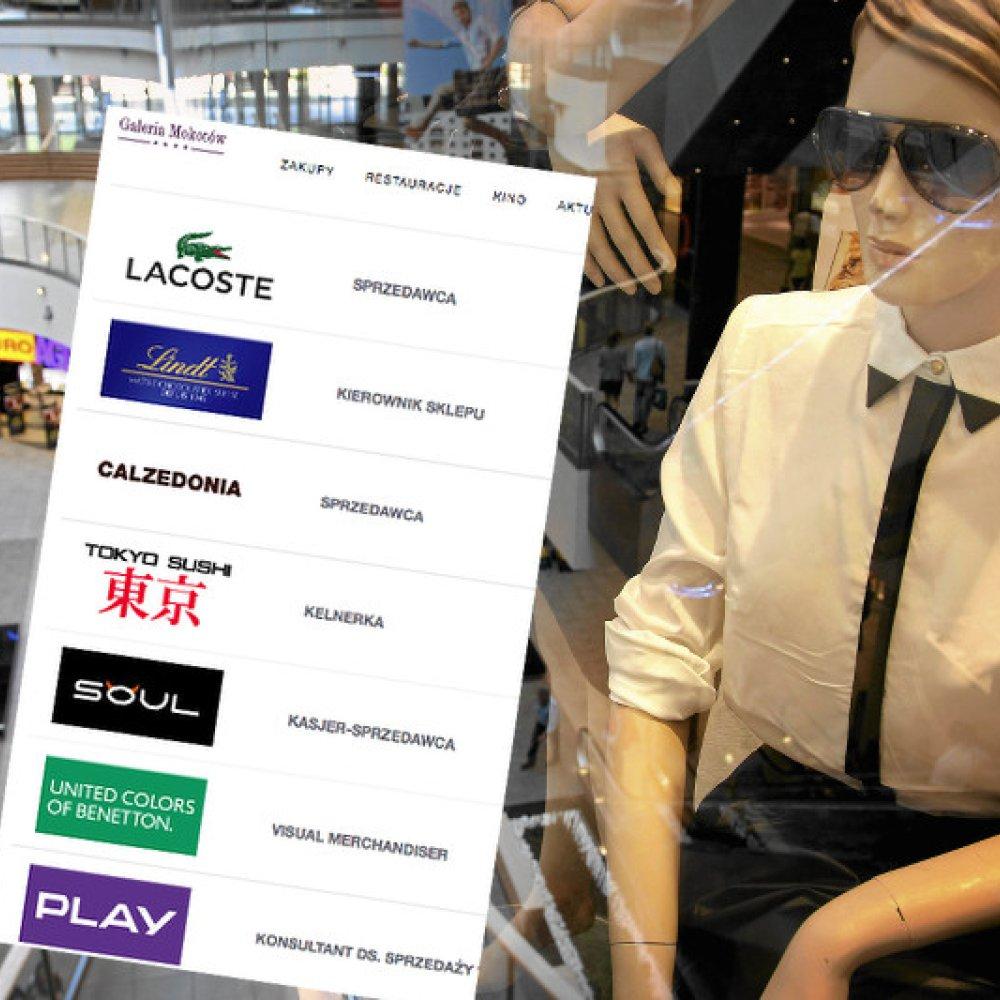 eebb4be56 Zobaczcie, co się stało w Galerii Mokotów, gdzie w sklepach brakuje  sprzedawców | naTemat.pl